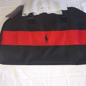 A Ralph Lauren gym bag